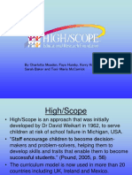 168286922 High Scope Presentation