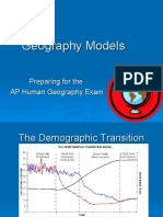 Geography Models  ,  Human  Ecology