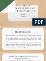 Bab 18 Pergeseran Ukuran Kinerja Ke Cost Effectiveness