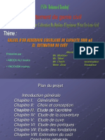 PFE Ingéniorat Hydraulique Dimensionnement d'Un Réservoir Circulaire