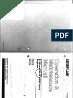 1998 CAT 3126 Oper & Maint Manual
