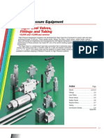 Taper Seal Valves, Fittings, And Tubing Catalog