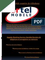 Ortel Mobile Numéro de Téléphone