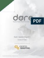 Dash DARE Update Report 1 October 9 2018