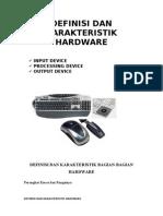 Definisi Dan Karakteristik Hardware