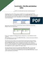 Informatica PowerCenter - FF and DB