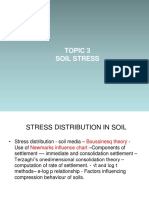 Stress in Soil