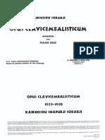 Sorabji Opus Clavicembalisticum
