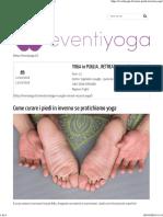 Come Curare i Piedi in Inverno Se Pratichiamo Yoga