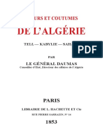 [Eugene Daumas] Moeurs Et Coutumes de l'Algerie(BookFi)