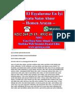2.EL EŞYA YÜKSEK FİYAT 0532 466 22 39