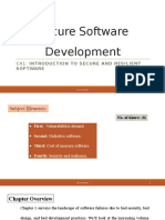 software secure development