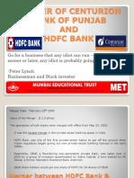MERGER OF CENTURION BANK OF PUNJAB & HDFC.pptx