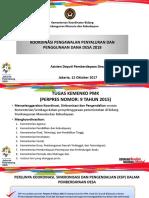 Koordinasi Pengawalan Penyaluran dan Penggunaan Dana Desa 2018.ppt