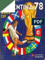 03. Álbum Copa Del Mundo Argentina 78-ELSABER21