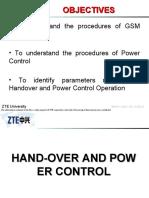 GB 0604 E1 Handover and Power Control