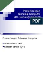 an Teknologi Komputer Dan Teknologi Informasi