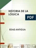 Historia de La Lógica (1)