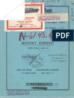 U-Boat Monthly Report - Jan 1943