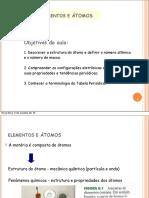 ELEMENTOS E ÁTOMOS slides  .pdf