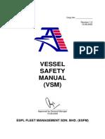 Vessel Safety Manual