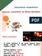 Produção Industrial de Ácido Sulfúrico