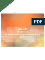 Intro to Pharm