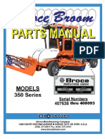 350 Series Broce Broom Parts Catalog 407638-408093