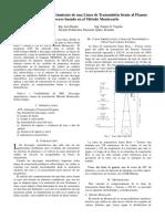 Cálculo del comportamiento de una línea frente al flameo inverso.pdf