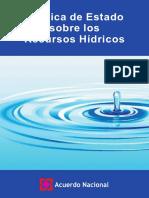 Acuerdo Nacional 33 Recursos_hidricos