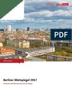 Miet Spiegel 2017 Berlin