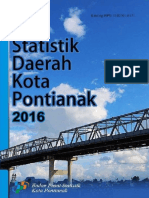 Statda Kota Pontianak 2016