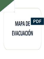 Mapa de Evacuacion