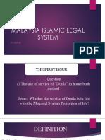 MALAYSIAN ISLAMIC LEGAL SYSTEM.pptx