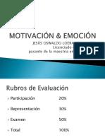1. Motivación & Emoción (1)