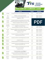 Programación de Cursos 2018(2)