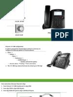 Polycom & Algo configurations.pptx