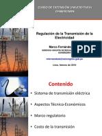Regulación de La Transmisión Eléctrica