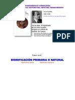 DIAPOS - Panofsky -Iconografia e Iconologia