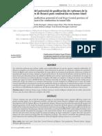 Determinación Del Potencial de Gasificación de Carbones