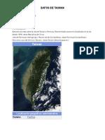 Datos de Taiwan