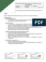 PBPD-01 Procedimiento de buenas prácticas de documentación