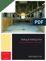 Henderson - Sliding & Folding Door