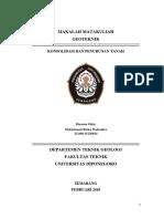 Konsolidasi dan penurunan tanah.docx