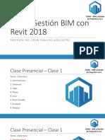 Curso Presencial Revit - Clase 1