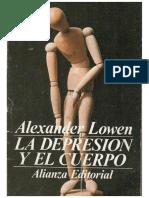 La Depresion y El Cuerpo