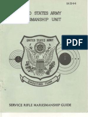 USAMU Service Rifle Marksmanship Guide   Marksman   Physical Fitness