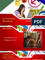 Frustración Ministerial