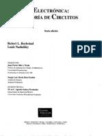 [BJT] Electronica Teoria de Circuitos 6Ed (Pearson - Robert L. Boylestad)