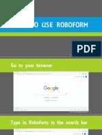 Rubylyn_armas_how to Use Roboform